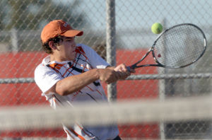 Wheeler's Hibbard always striving to get better on the tennis court