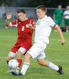 Crown Point's Alex Fenn and Valpo's Chase Holford