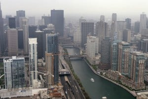 Chicago River flows through history