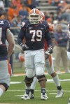 Illinois lineman Craig Wilson