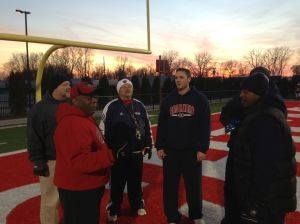 It takes a family in East Chicago: players, head coach and assistants