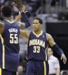 Pacers shoot 58 percent, beat Wizards