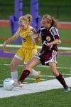 Girls Soccer, Chesterton's Ashton Balch