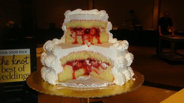 Mario Batali's pick: Corbo's Bakery Cassata Cake | Will Travel For ...