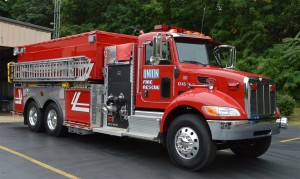 Union Volunteer Fire Department receives two new trucks
