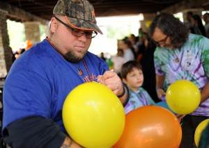 Walkers shine light on suicide prevention
