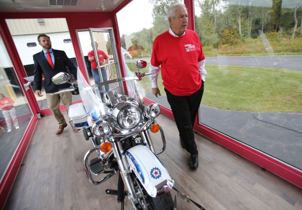 I Make America Harley Tour rumbles into town