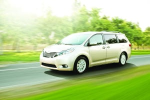 Room for everyone in the Toyota Sienna