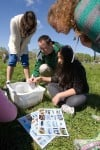 Valpo 5th-graders, VU work together to test conditions at a basin