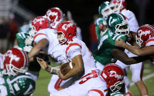 Grady's four touchdowns lead Crown Point to OT win