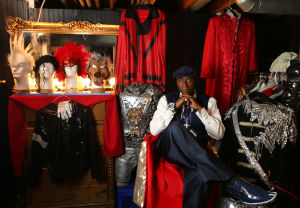Michael in the mirror: Gary native dances, sings as Jackson tribute entertainer