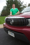 Times Columnist Philip Potempa with his 2006 Buick Rendezvous Purchased New in September 2005