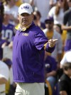 LSU's Miles wins AP coach of the year  