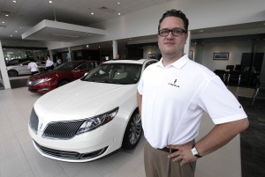 Lincoln brand introducing dealers to luxury buyers