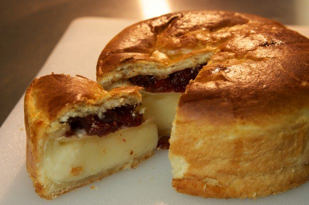 Baked Brie en Croute Recipe Adds Brie en Croute to Its