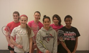 T.F. South badminton team eyes a state title