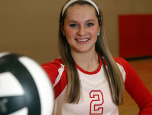 Times 2013 volleyball player of the year: Alyssa Kvarta, Crown Point