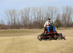 Lingering winter has not been kind to region's golf courses