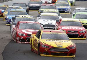 Logano wins at New Hampshire in 2nd Chase race