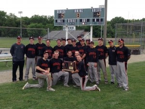 Beecher baseball team wins Class 2A Seneca Sectional title