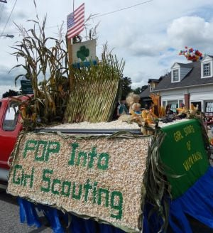 Girl Scouts win float award