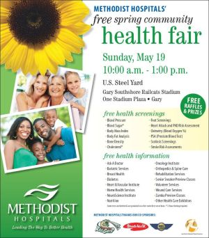 Methodists Hospitals partners with community organizations for spring community health fair