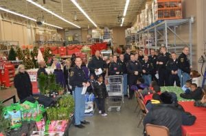 Michigan City police celebrate spirit of season