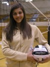 Griffith sophomore outside hitter Lisette Roldan