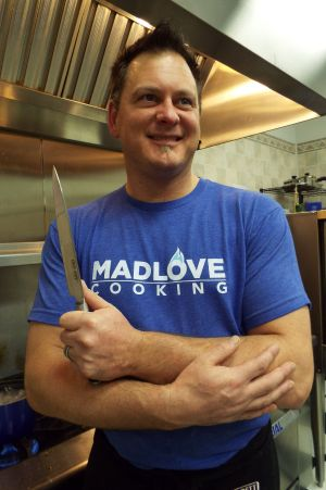 A passion for food: Chef Joe Arvin delivers Mad Love Cooking