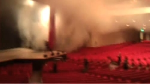 RAW VIDEO: Star Plaza Theatre fire