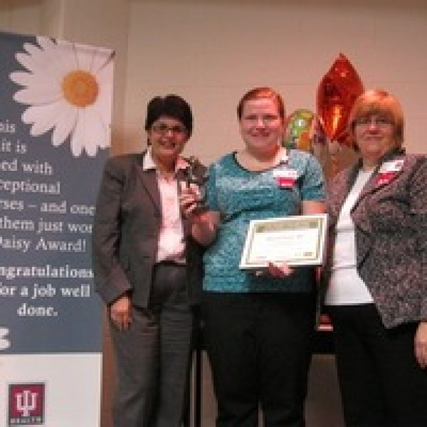 Extraordinary nurses recognized at iu health la porte for Iu laporte hospital