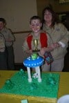 St. Ann Pack 247 holds cake contest