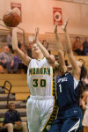 Morgan Township freshman forward Kameraon Stanko
