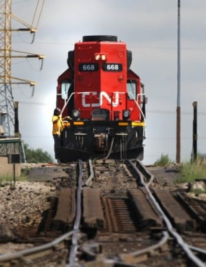 Rail company CN shifting work to Gary, bringing up to 251 jobs