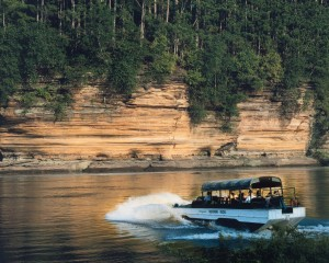 Natural charm and man-made thrills in Wisconsin Dells