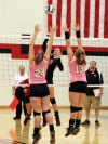 Washington Twp vs Pioneer, girls volleyball