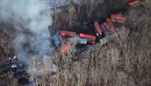 VIDEO: Valpo police discuss train crash