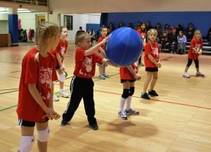 Youth Coed volleyball through Valpo Parks and Boys & Girls Club