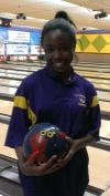 Capri Howard, TF North girls bowler