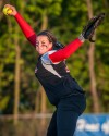 T. F. South pitcher Cori Reynolds