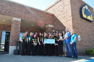 Buffalo Wild Wings helps Halo of Hope put on successful donation program