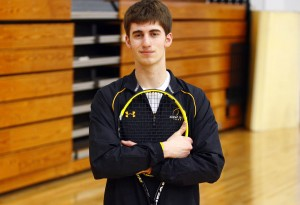 Marian's LaVelle doesn't let ankle injury slow him down