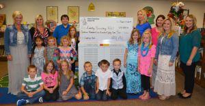 PTO donates to Liberty Elementary