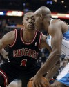 Boozer scores 18 in Bulls' win against Hornets