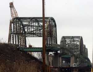Nine Span Bridge disappearing piece by piece
