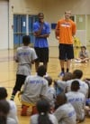 E'Twaun Moore's second-annual basketball camp at E.C. Central High School.