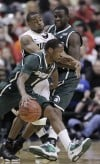 Boilermakers outsted from Big Ten tourney by Spartans