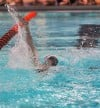 Portage's Alexander Schreier was fifth in the 200-yard IM (202.87) at Saturday's LaPorte Sectional.