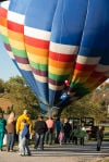 Hot air balloon lifts Mommy's Haven benefit hopes