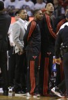 Derrick Rose, on Bulls sidelines